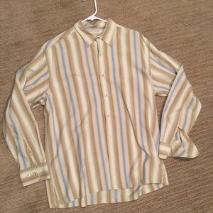 Tommy Bahama (L) 100% silk shirt
